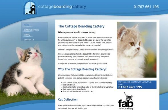 cottage boarding cattery