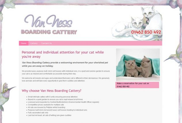 Van Ness Boarding Cattery