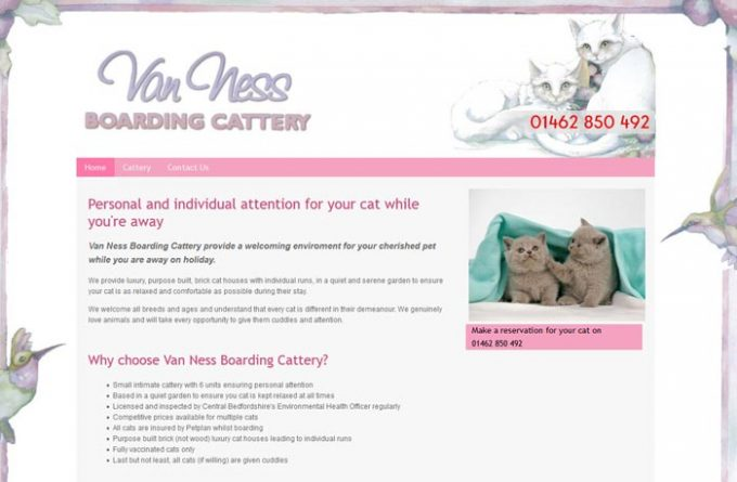 Van Ness Boarding Cattery
