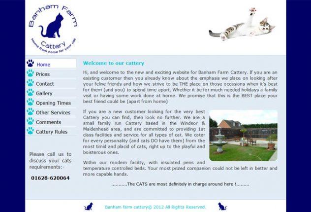 Banham Farm Cattery