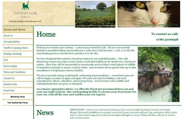 Country Lane Cattery