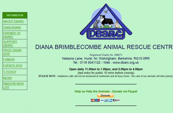 Diana Brimblecombe Rescue Centre - Wokingham