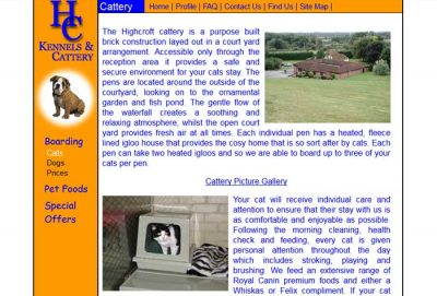 Highcroft Boarding Kennels and Cattery
