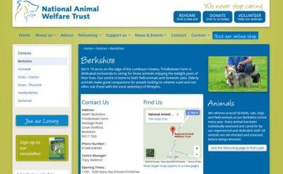 National Animal Welfare Trust - Great Shefford