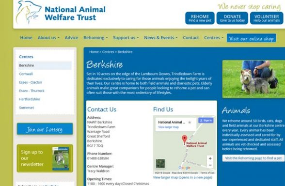 National Animal Welfare Trust - Great Shefford