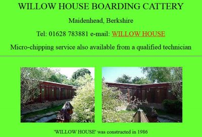 Willow House Cattery