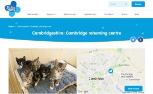 Blue Cross Rehoming Centre - Cambridge