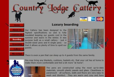 country lodge cattery