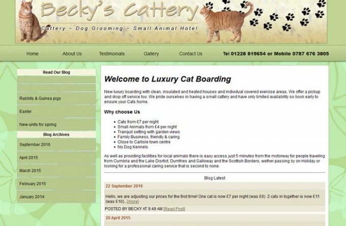 Becky's Cattery