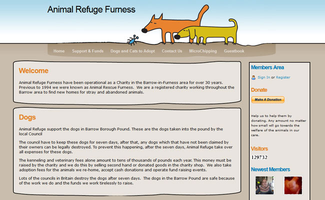 Animal Refuge Furness - Barrow-In-Furness