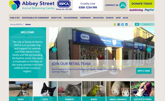 RSPCA Rehoming Centre - Derby