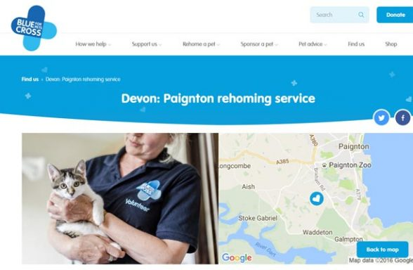 Blue Cross Rehoming Service - Paignton