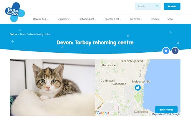 Blue Cross Rehoming Centre - Torquay