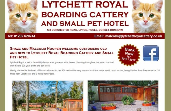 Lytchett Royal Boarding Cattery