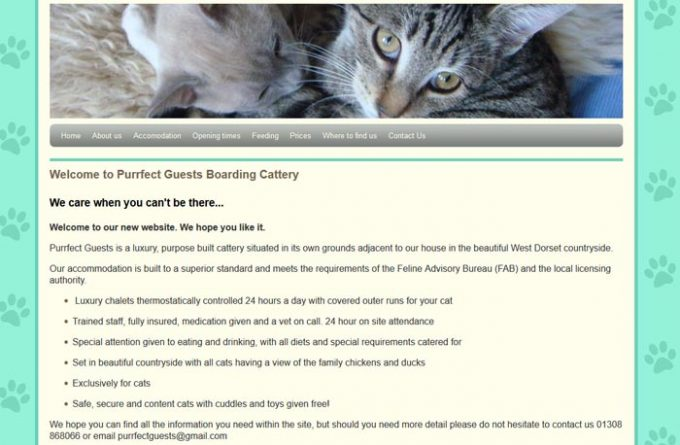 Purrfect Guests Boarding Cattery