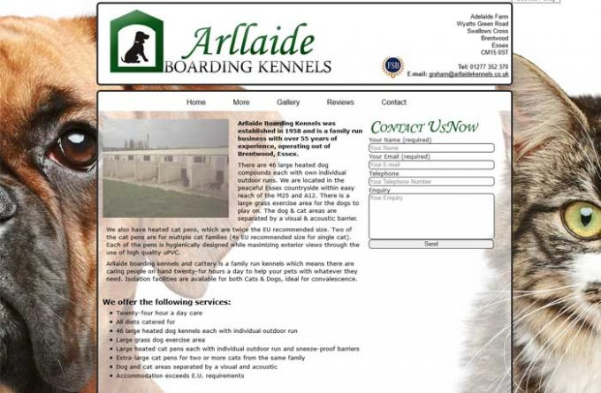 Arllaide Boarding Kennels and Cattery