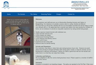 Baskervilles Boarding Kennels