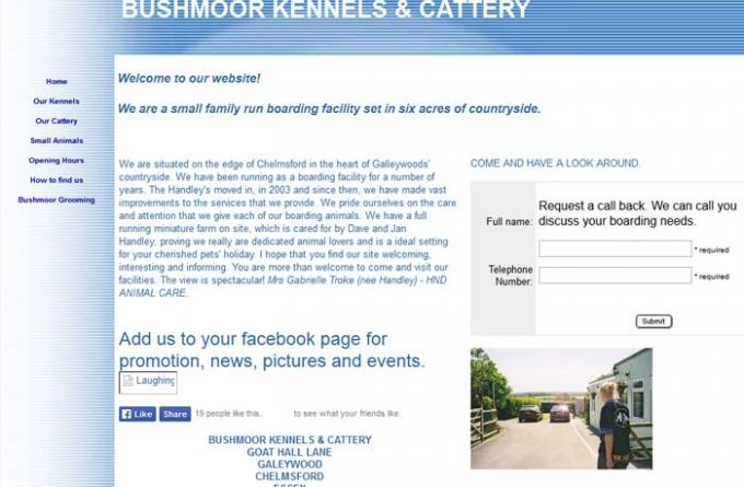 Bushmoor Kennels and Cattery