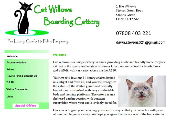 Cat Willows Boarding Cattery