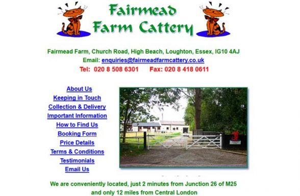 Fairmead Farm Catteries
