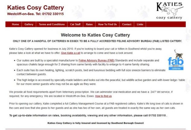 Katie's Cosy Cattery