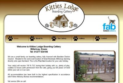 Kitties Lodge Boarding Cattery