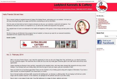 Ladybird Kennels & Cattery