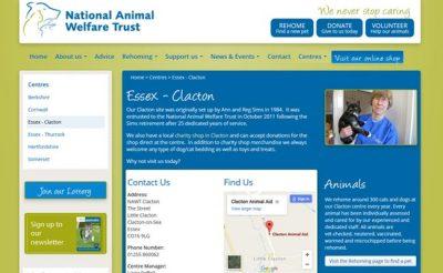 National Animal Welfare Trust - Clacton-on-Sea