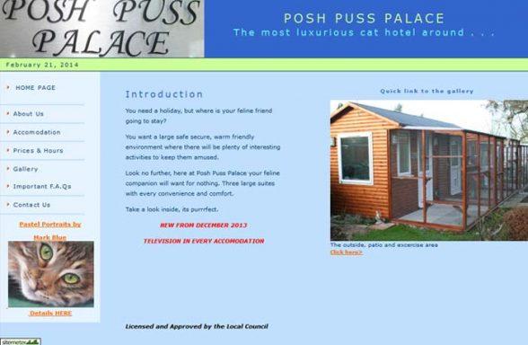 Posh Puss Palace