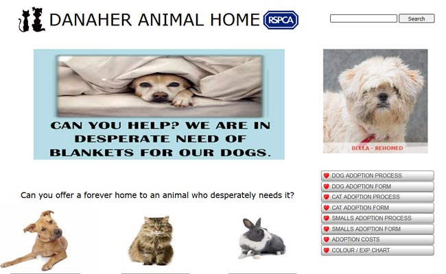 RSPCA Danaher Animal Home - Braintree
