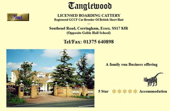 Tanglewood Boarding Cattery