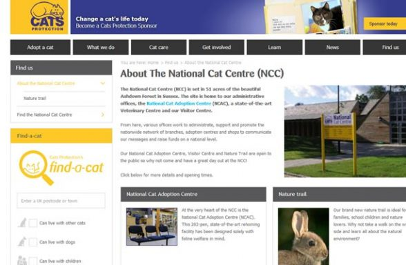 Cats Protection National Cat Centre - Haywards Heath