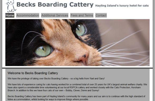 Becks Boarding Cattery