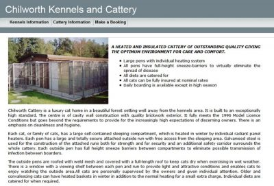 Chilworth Kennels & Cattery