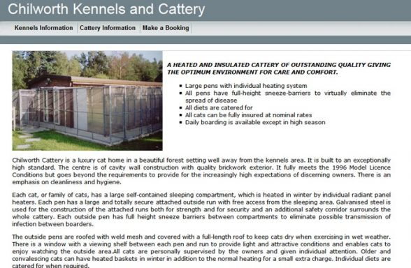 Chilworth Kennels and Cattery