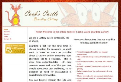 Cook's Castle Boarding Cattery