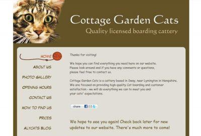 Cottage Garden Cats