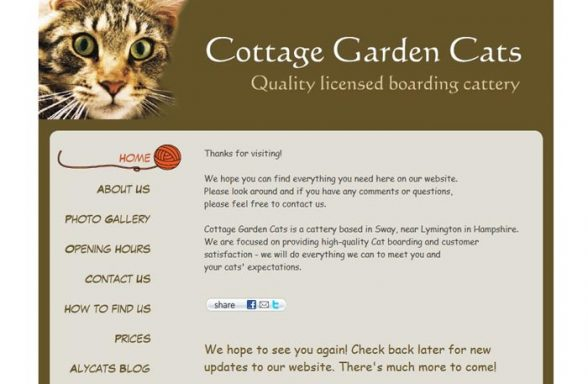 Cottage Garden Cats