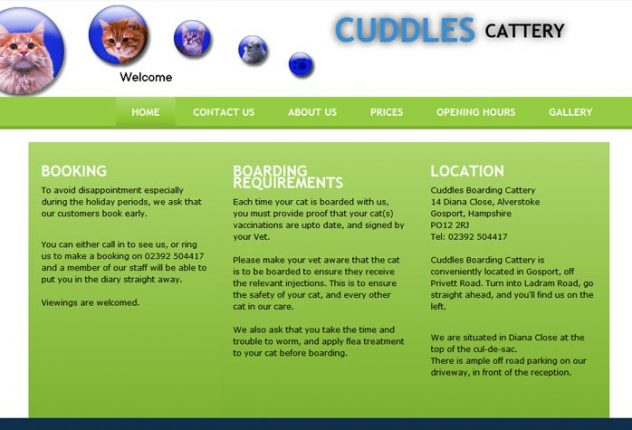 Cuddles Boarding Cattery