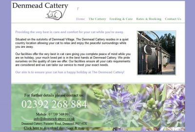 Denmead Cattery
