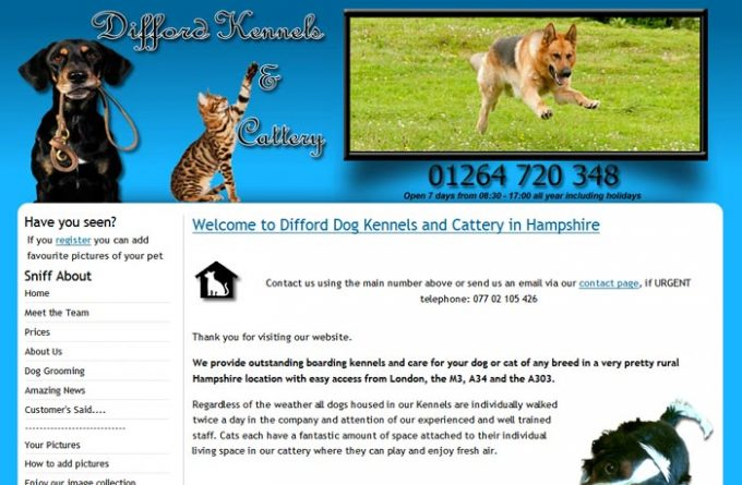 Difford Kennels and Cattery