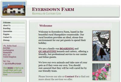 Eyersdown Farm Kennels & Cattery Ltd