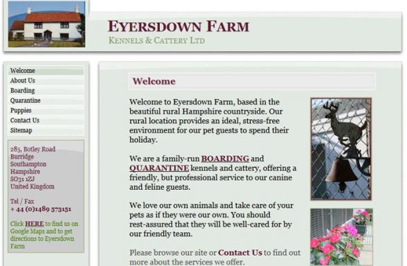 Eyersdown Farm Kennels and Cattery Ltd