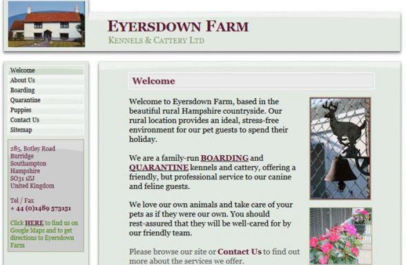 Eyersdown Farm Kennels and Cattery Ltd