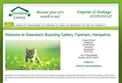 Greenbarn Boarding Cattery