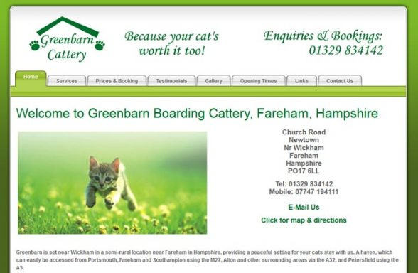 Greenbarn Boarding Cattery
