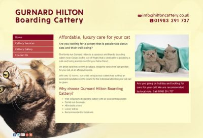 Gurnard Hilton Boarding Cattery