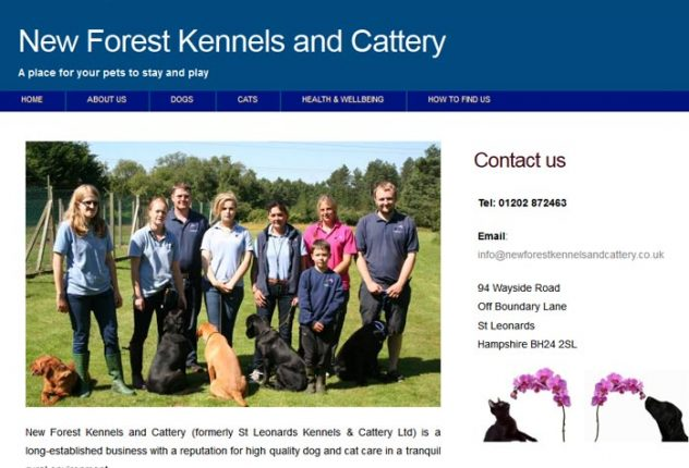 New Forest Kennels Ltd