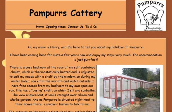 Pampurrs Boarding Cattery