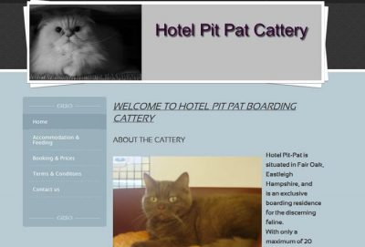 Hotel Pit-Pat Boarding Cattery